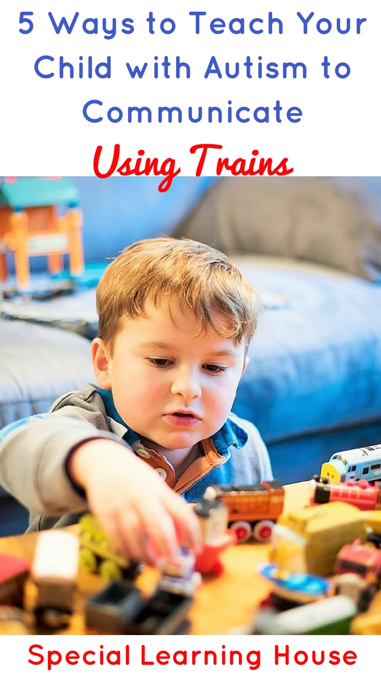 Teach Your Four Year Old To Read: 5 Ways To Use Trains To Teach Your Child With Autism To